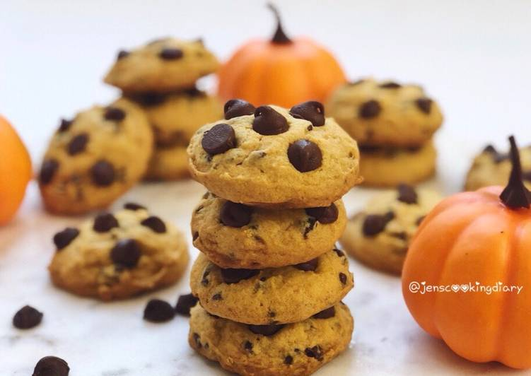 How to Cook Tasty Pumpkin Chocolate Chips Cookies