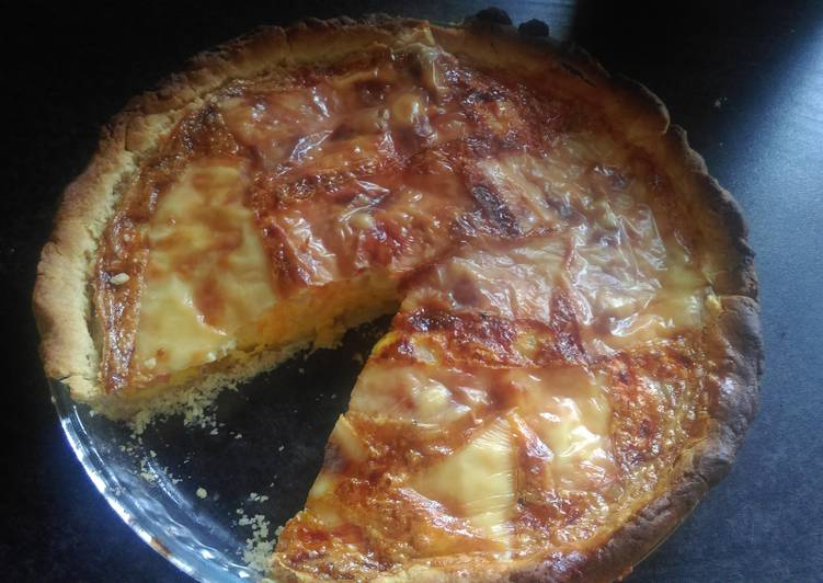 Simple Way to Prepare Most Popular Mandys cheese tomato and onion quiche