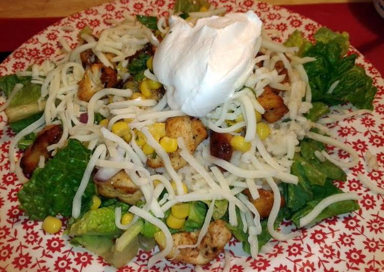 Recipe: Yummy Mexican chicken salad