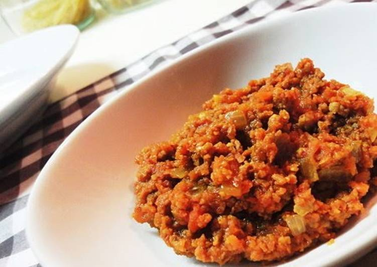 Healthy Dry Curry with lots of Carrot Finding Nutritious Fast Food