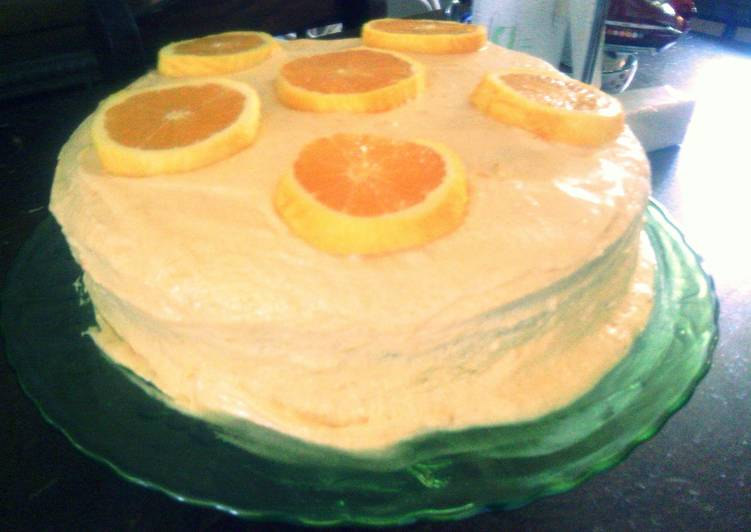 Sunshine famous orange cake