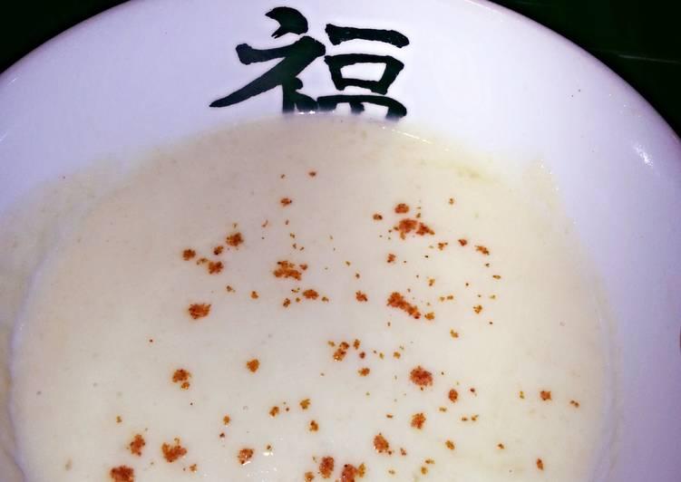 H's carb free creamy Veg soup
