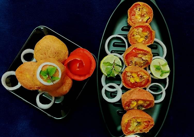 Easiest Way to Prepare Any-night-of-the-week Stuffed tomato bonda