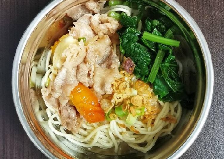 Resep Niu Rou Mian (Mie Sapi Short Plate) Top