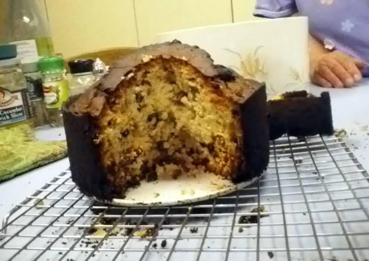great grandma's light fruit cake (not christmas)