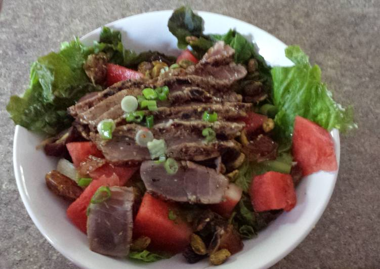 Learn How to Boost Your Mood with Food Tropical Ahi Tuna Salad