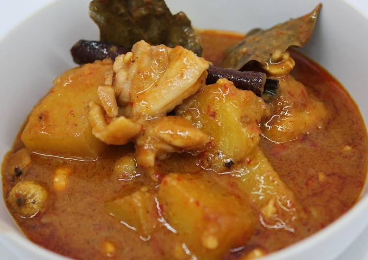Recipe: Delicious Massaman Curry