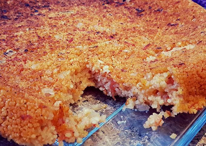 Crunchy tomato couscous