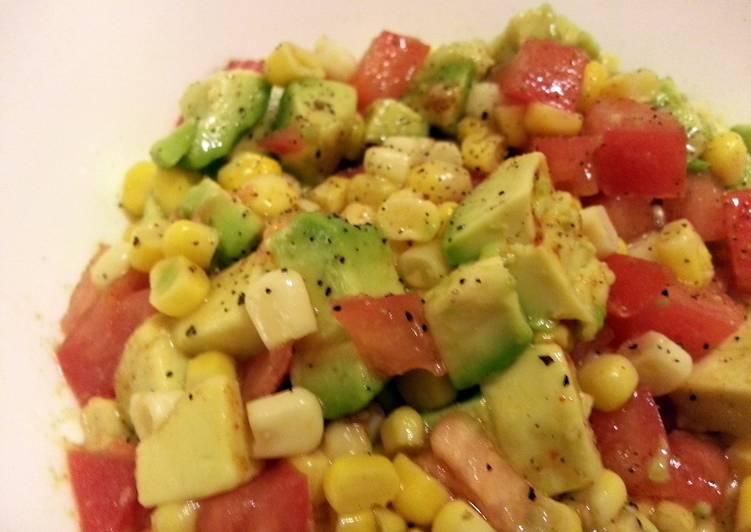 25 Minute Recipe of Quick Avocado-Corn Salad