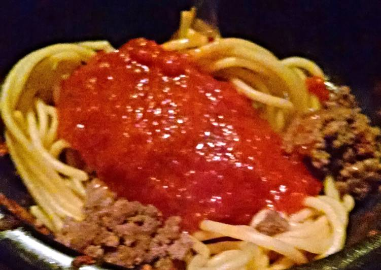 Hubby's Favorite Pasta Sauce