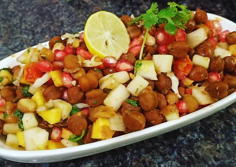 The Best Soft and Chewy Dinner Easy Homemade Chana Chaat
