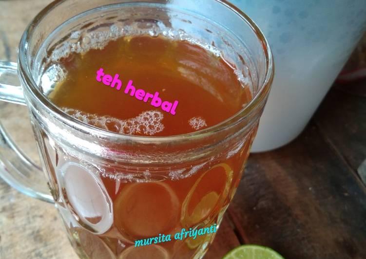 Teh Herbal (untuk flu dan batuk)
