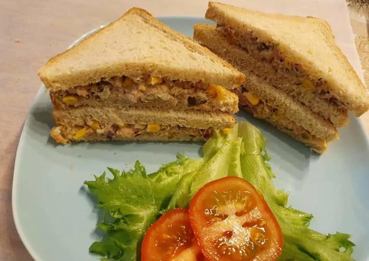Steps to Make Perfect Tuna sandwiches
