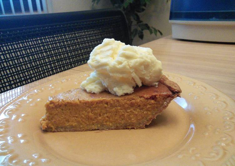 Mother's Pumpkin Pie