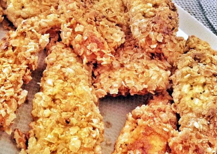 Oatmeal-Battered Chicken
