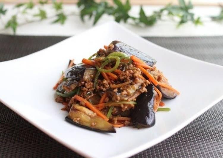 Easy! Delicious! Mapo Eggplant