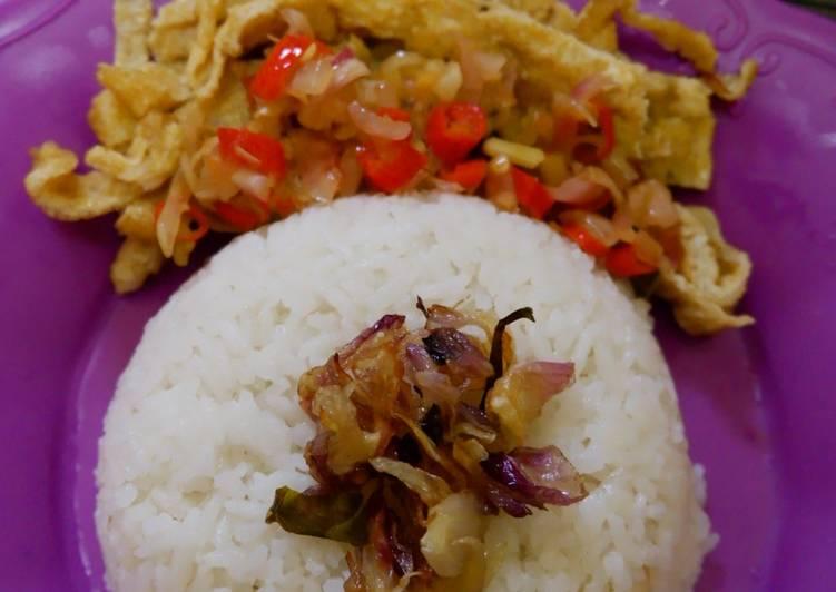 Resep Nasi Uduk Rice Cooker Buatan Anak Kos Bikin Jadi Laper