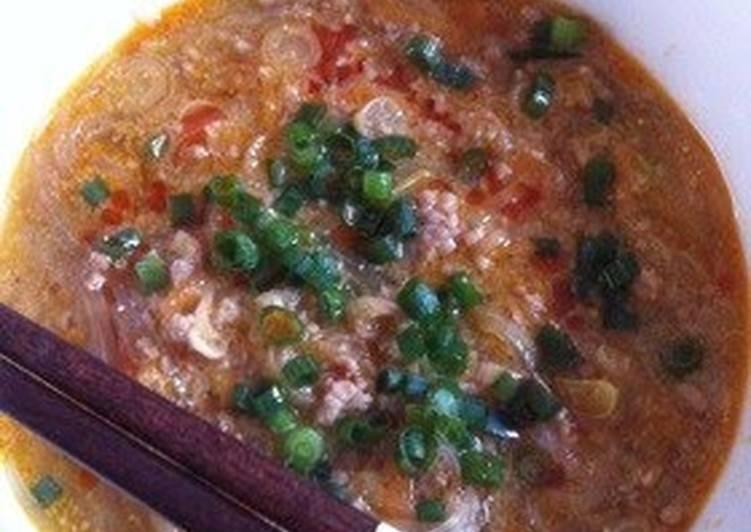 Easy Dan Dan Soup with Ground Sesame Seeds and Doubanjiang, Choosing Wholesome Fast Food