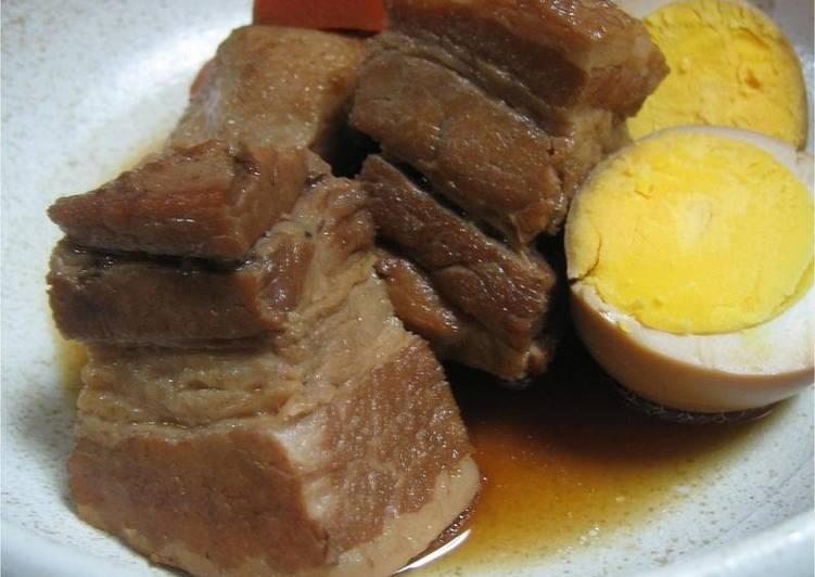 Hearty Comfort Dinner Easy Royal So Tender! Buta no Kakuni - Simmered Pork Belly