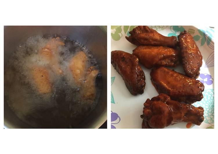Steps to Prepare Award-winning Fried Buffalo Chicken Wings