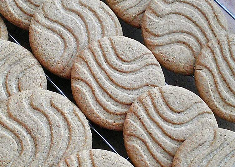Steps to Prepare Perfect Vickys Digestive Biscuits, GF DF EF SF NF