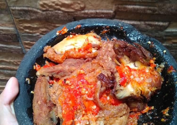 Sambal Ayam Geprek