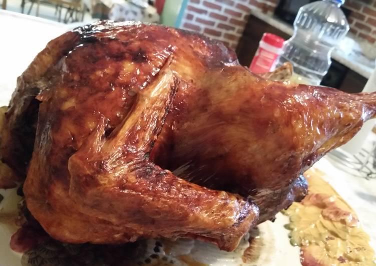 Simply Deep Fried Turkey