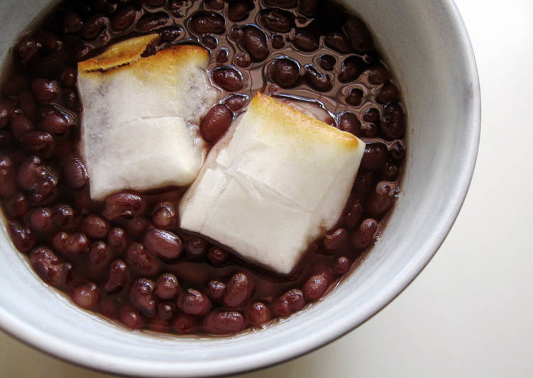 Recipe of Ultimate Zenzai (Sweet Azuki Soup)