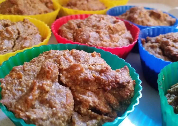 Quinoa carrot muffins