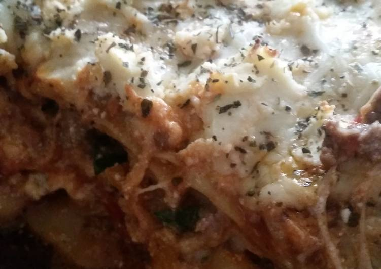 Healthier Lasagna