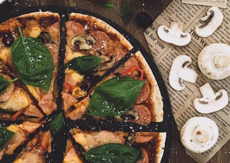 Cara Mudah Masak: Pizza Pepperoni Ayam #phopbylinimohd #batch18  Terbaru