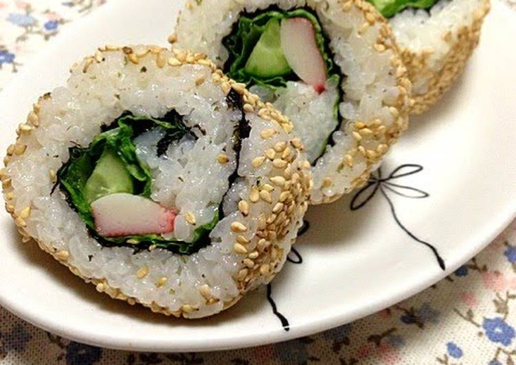 California Rolls For Guests