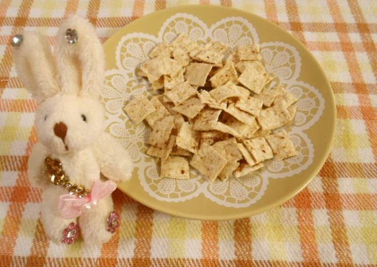 Okara Cookies in a Microwave with Dashida Flavor - Laurie G Edwards
