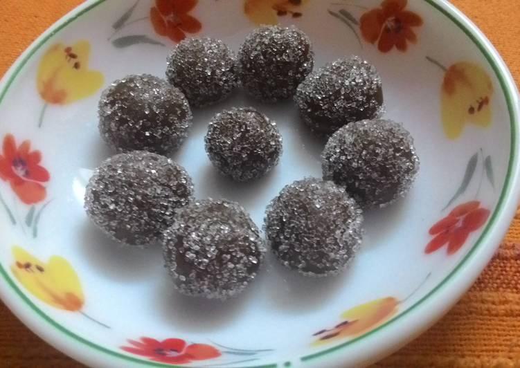Caramel chooo ( chewy caramel fudge balls)