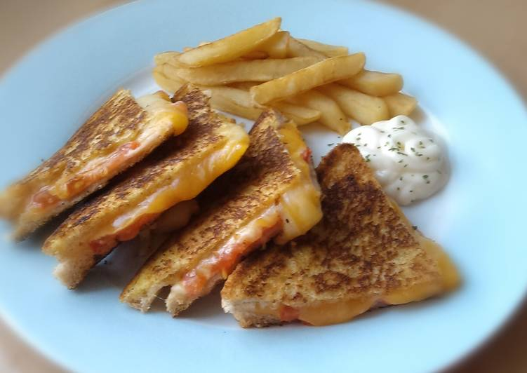 Steps to Make Super Quick Homemade Vickys Pan-Fried Toasties with loads of Filling Ideas!