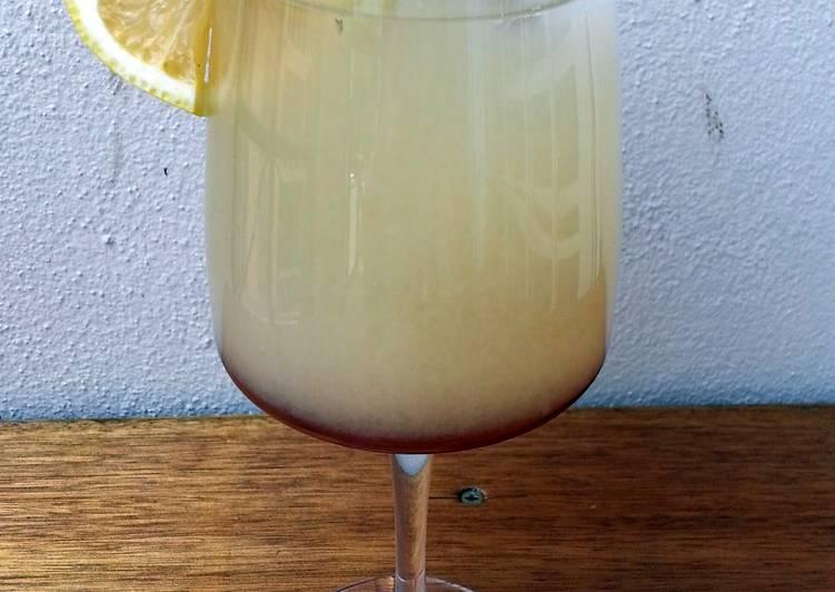 Barley Honey Lemon Drink