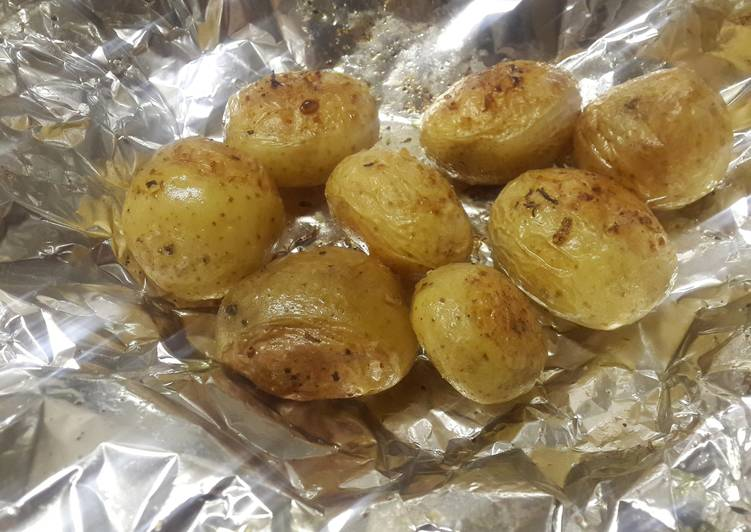 Step-by-Step Guide to Prepare Homemade Perfect crispy baked potatoes