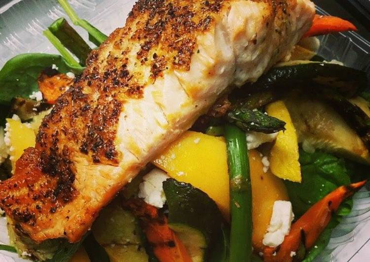Recipe: Tasty Christi's Green Tea Honey Crusted Salmon