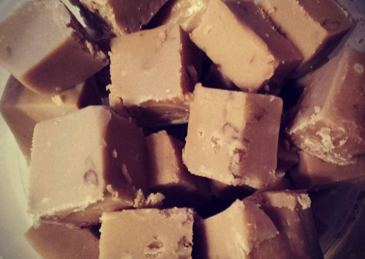 Old School Maple Nut Fudge