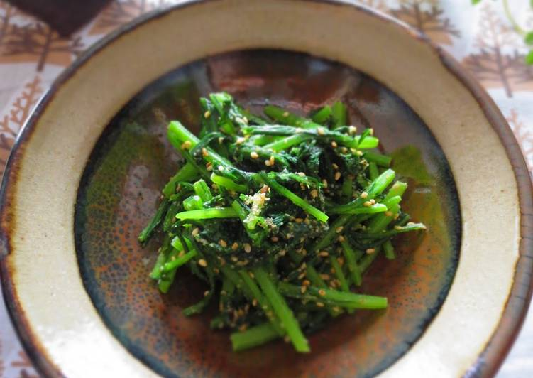 Step-by-Step Guide to Prepare Quick Chrysanthemum Leaf Namul (Korean-Style Salad)
