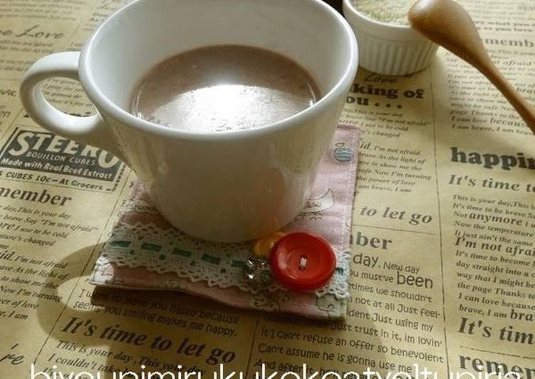 Beauty Beverage Almond Hot Chocolate