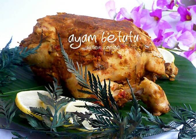 Resep Ayam Betutu, Enak Banget