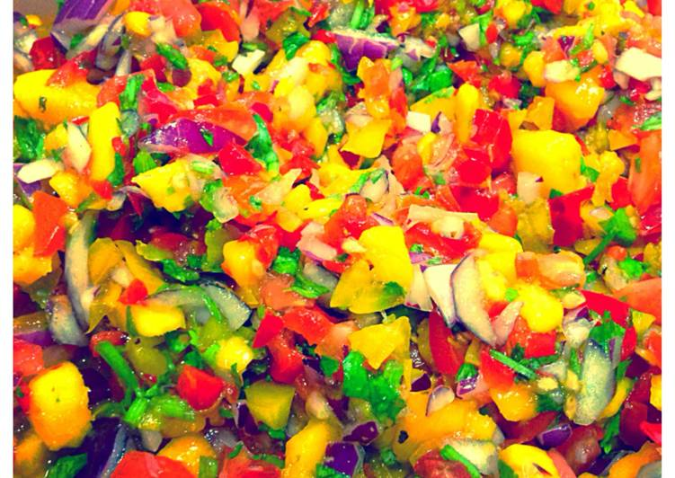 How to Make Ultimate Mango salsa