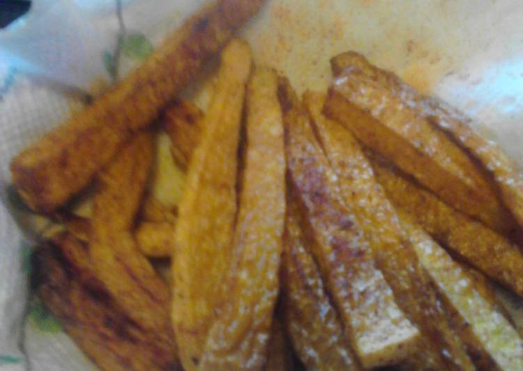 Spicy Butternut Squash Fries