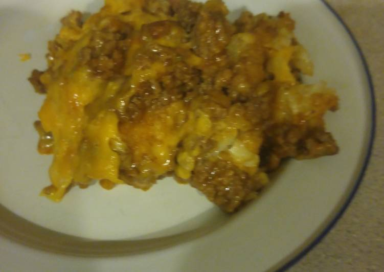Tater Tot Casserole, Help Your Heart with Food