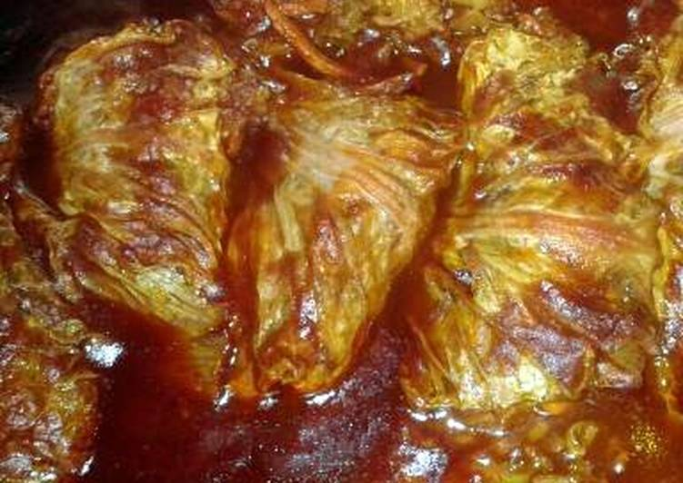 Easiest Way to Prepare Favorite SHEREE'S ASIAN CABBAGE ROLLS