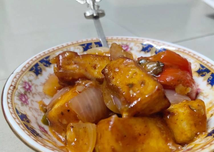 Recipe of Award-winning Chilli Paneer