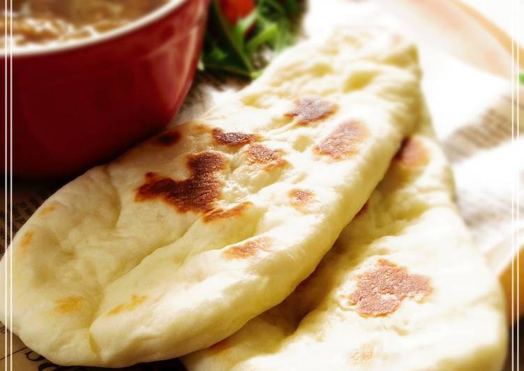 Steps to Make Ultimate Chewy and Light Naan Bread