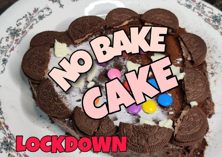 Easiest Way to Prepare Appetizing No Bake Chocolate Biscuit Cake