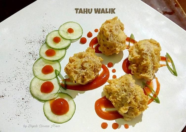 Tahu Walik (hasil plating class)